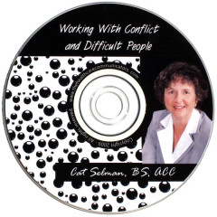 Working with Conflict and Difficult People